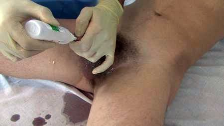 Twink take medical examination and deep ass fingering
